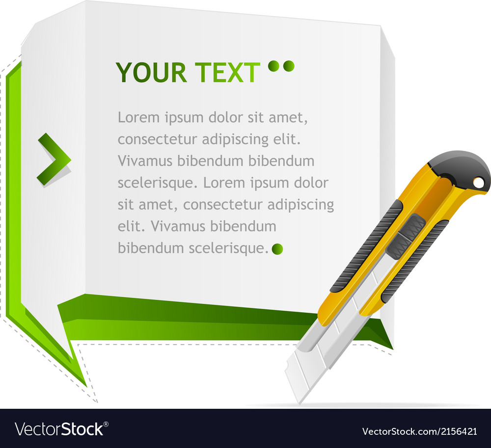 Paper speech templates for text vector | Price: 1 Credit (USD $1)