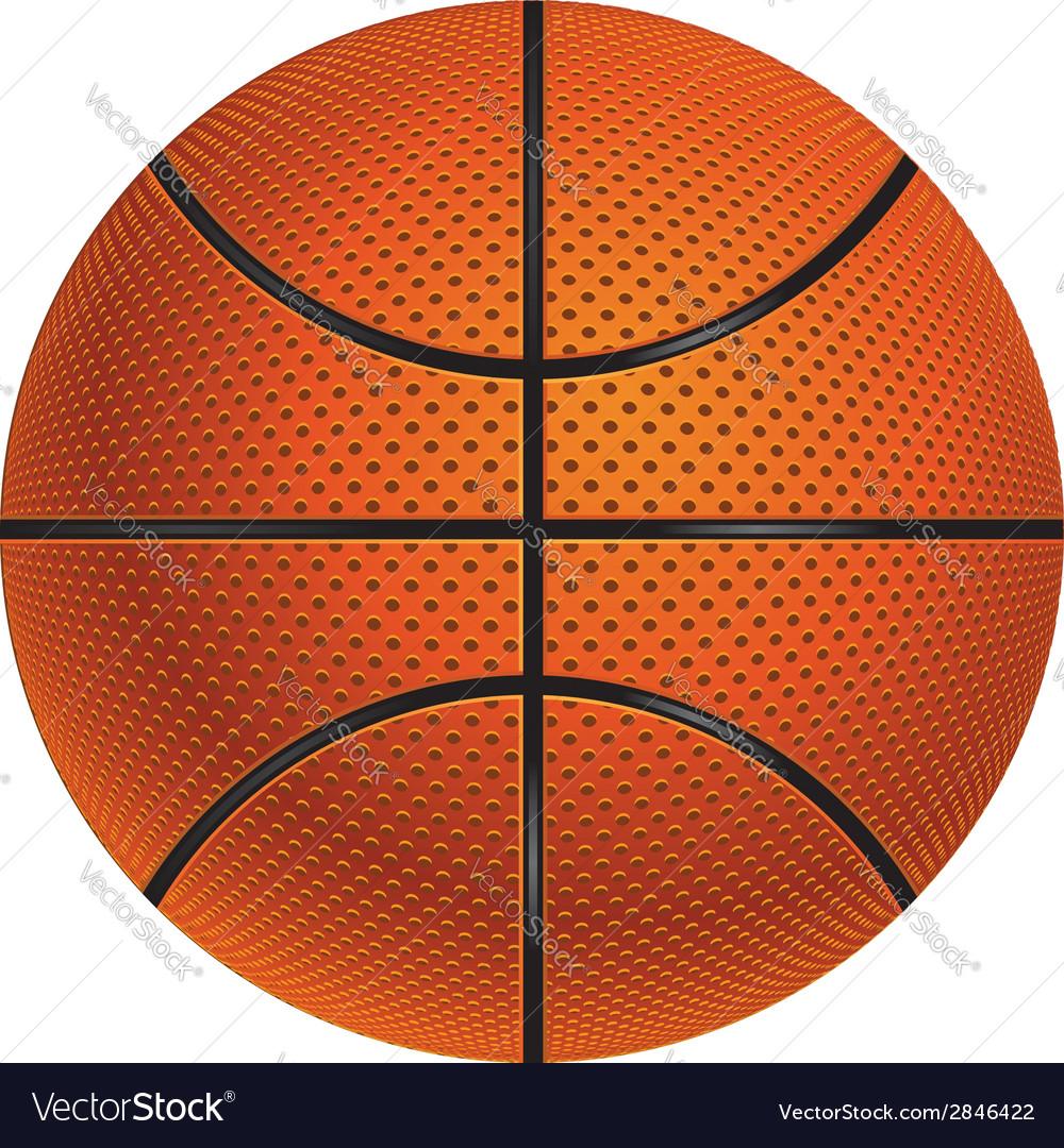 Basketball ball3 vector | Price: 1 Credit (USD $1)