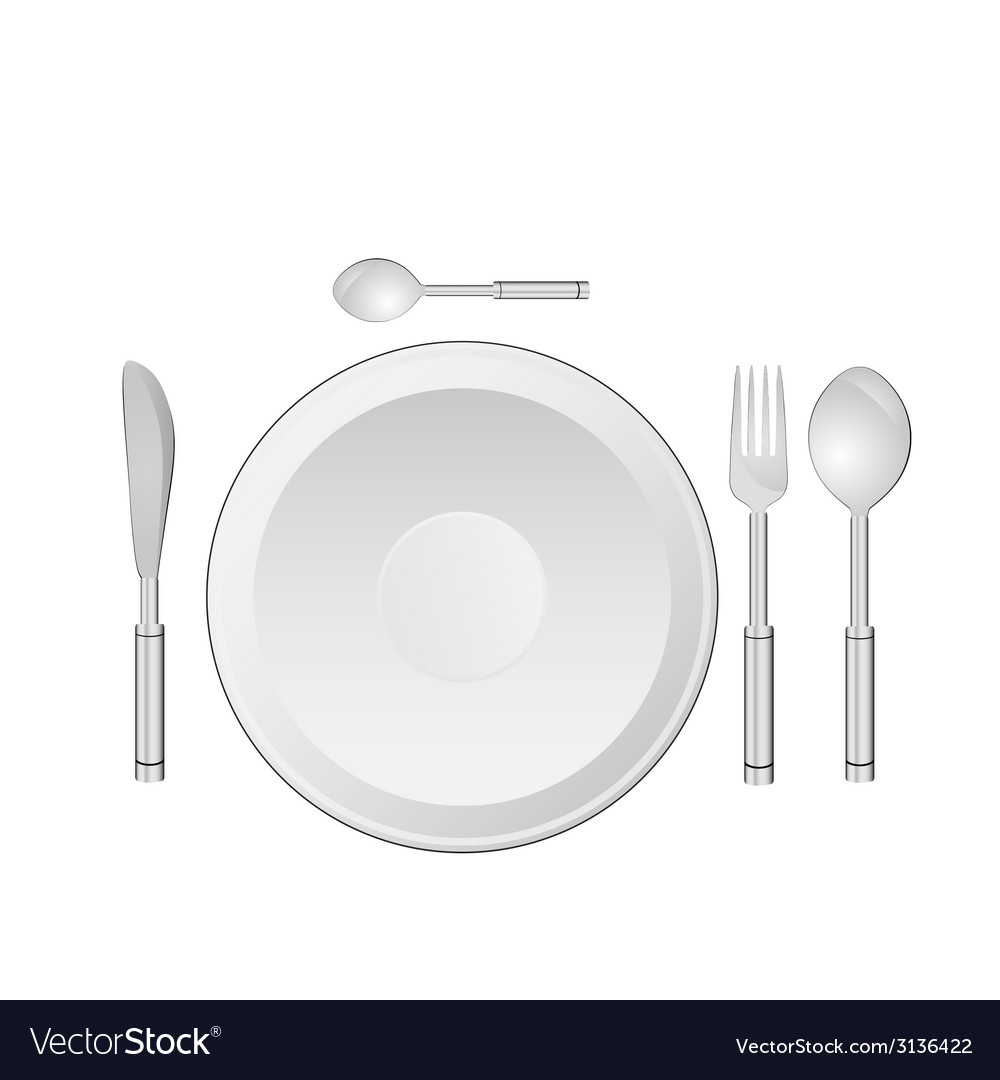 Dinner service vector | Price: 1 Credit (USD $1)
