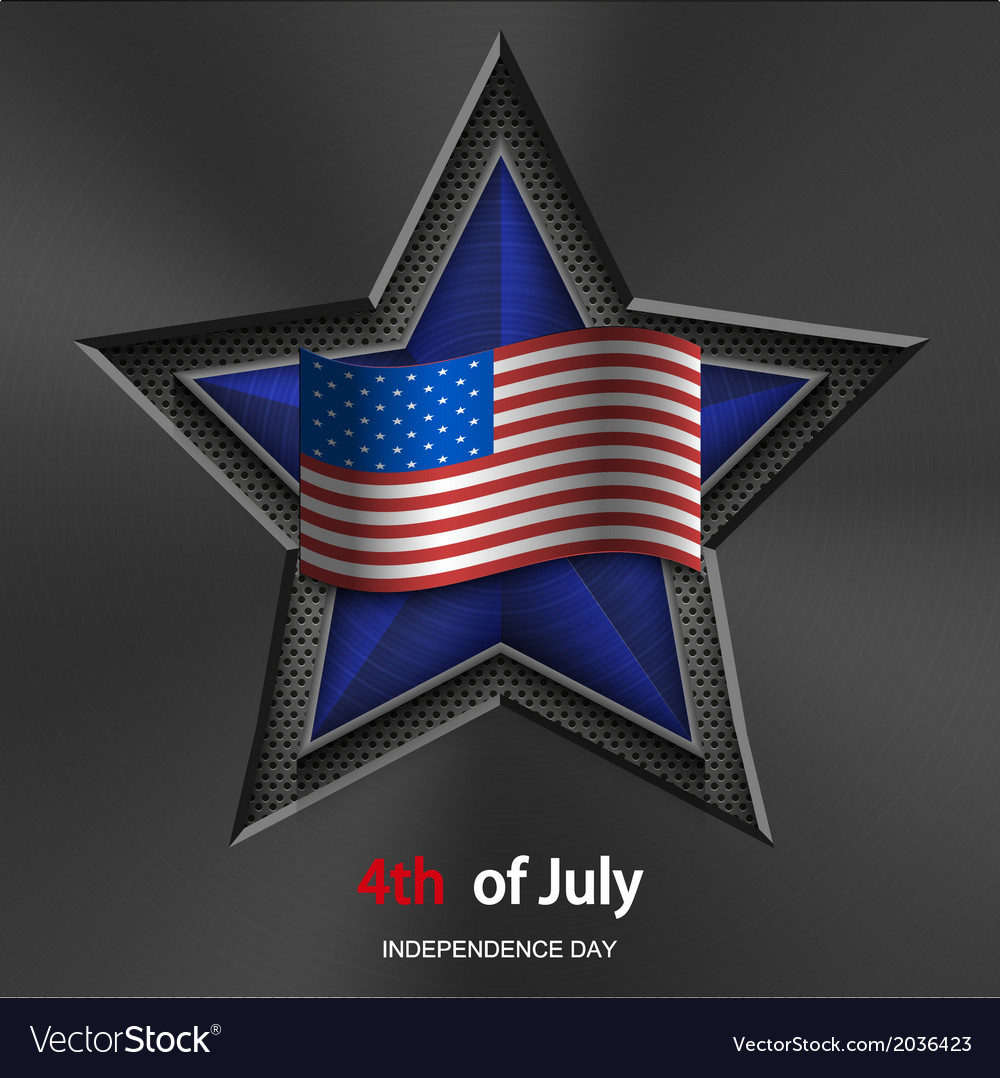 4th of july background usa independence day vector   Price: 1 Credit (USD $1)