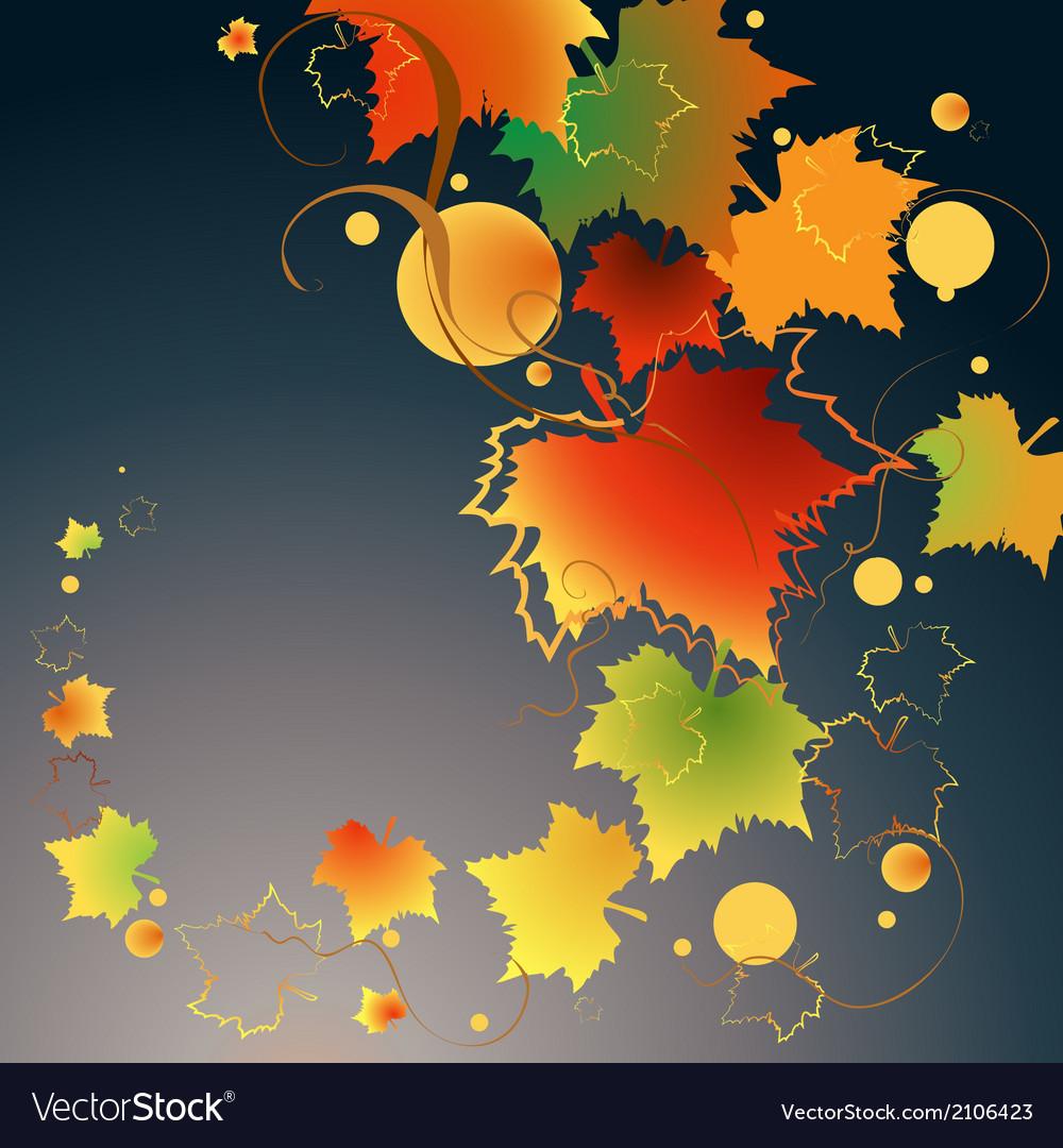 Dark autumn vector | Price: 1 Credit (USD $1)