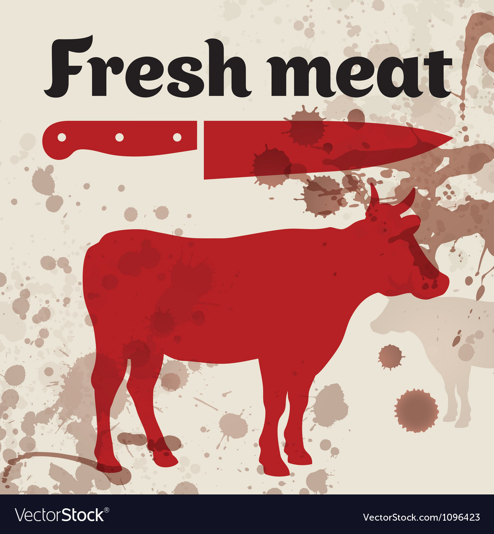 Fresh meat beef vector | Price: 1 Credit (USD $1)
