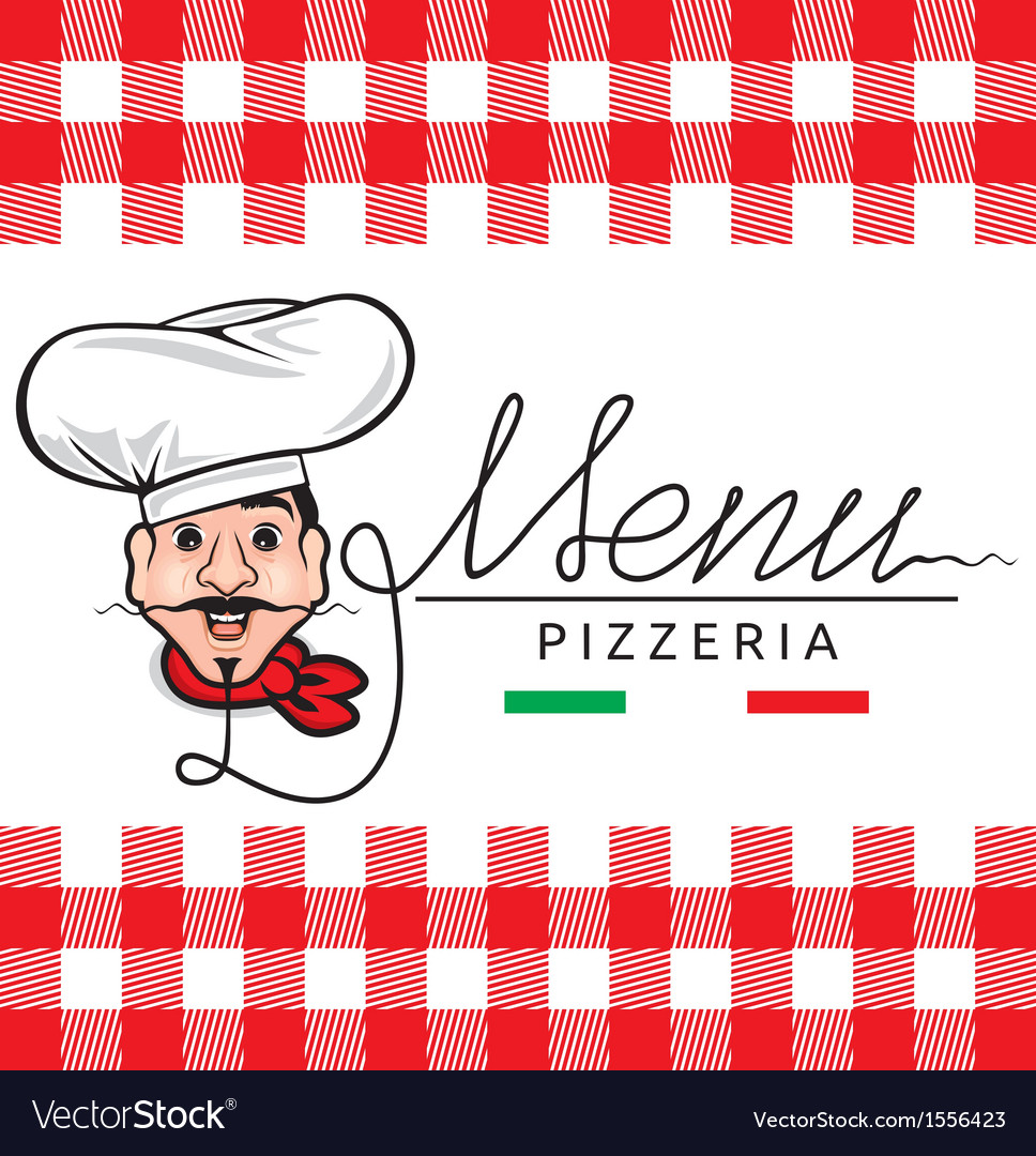 Italian restaurant menu vector | Price: 1 Credit (USD $1)