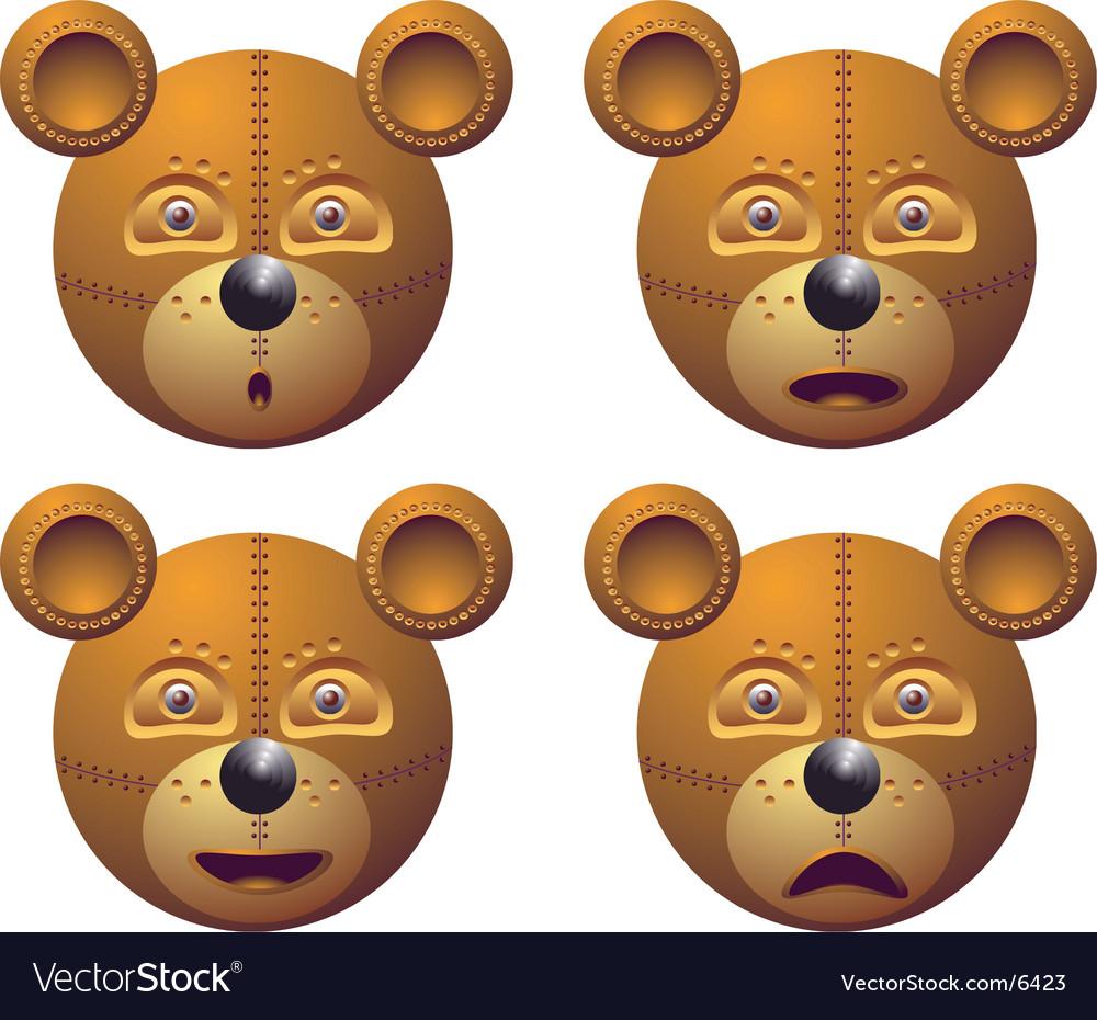 Robot bear vector   Price: 3 Credit (USD $3)