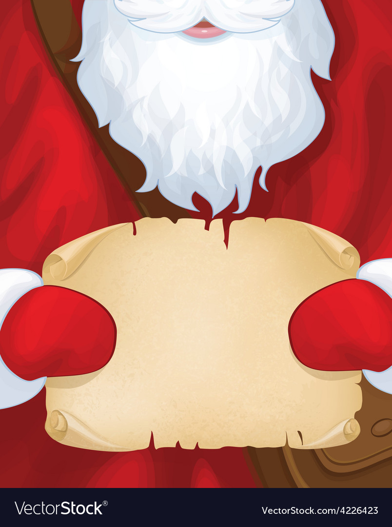 Santa postman vector | Price: 1 Credit (USD $1)