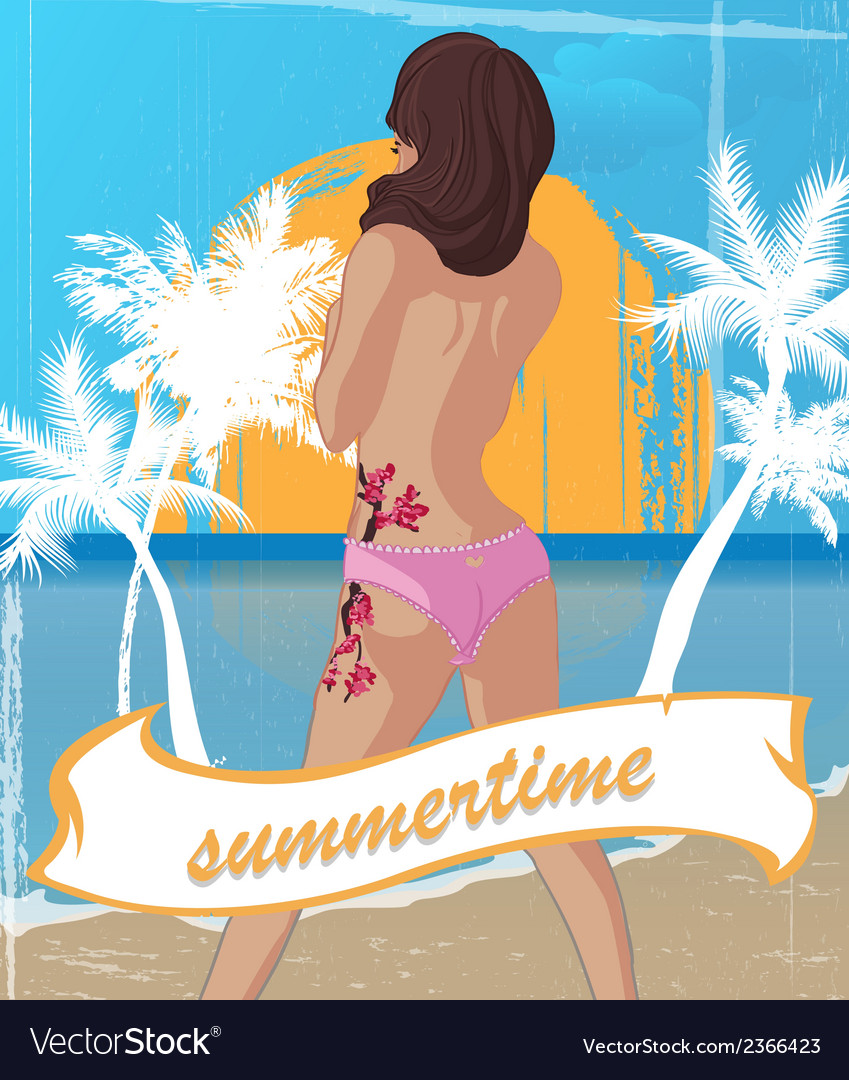 Summertime vector | Price: 1 Credit (USD $1)