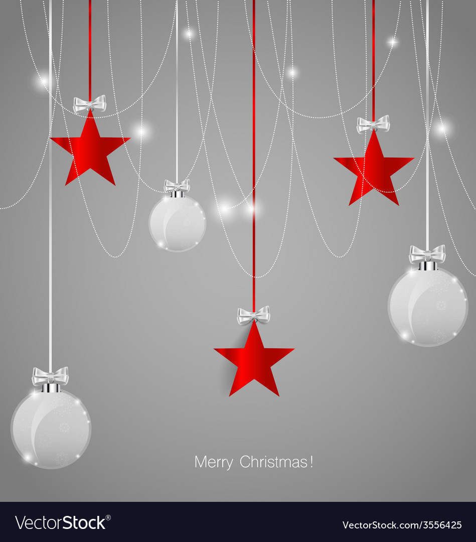 Christmas background with christmas decorations vector   Price: 1 Credit (USD $1)