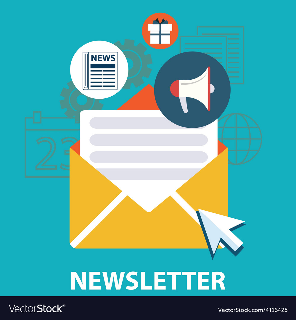 News letter vector   Price: 1 Credit (USD $1)