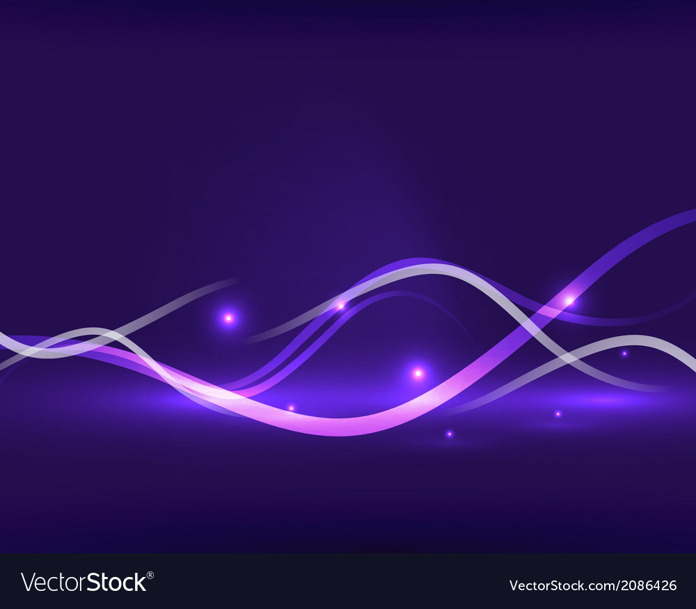 Abstract glowing lines vector | Price: 1 Credit (USD $1)