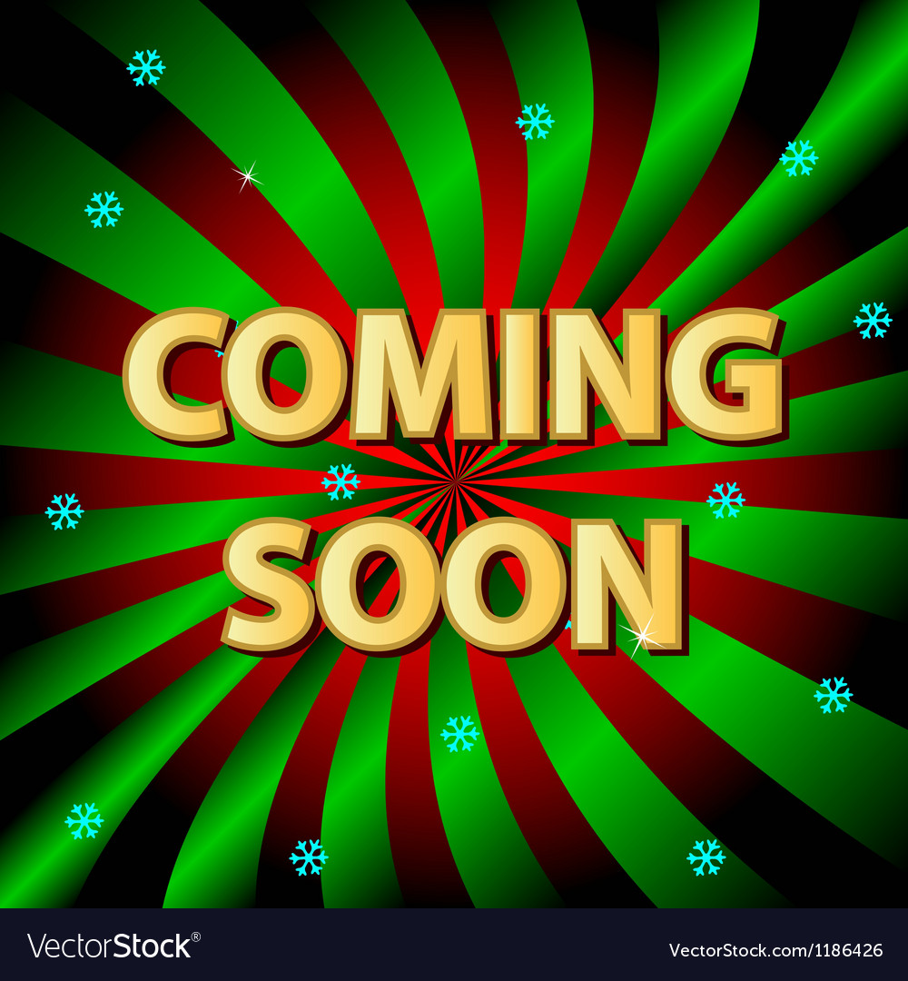 Coming soon background vector | Price: 1 Credit (USD $1)