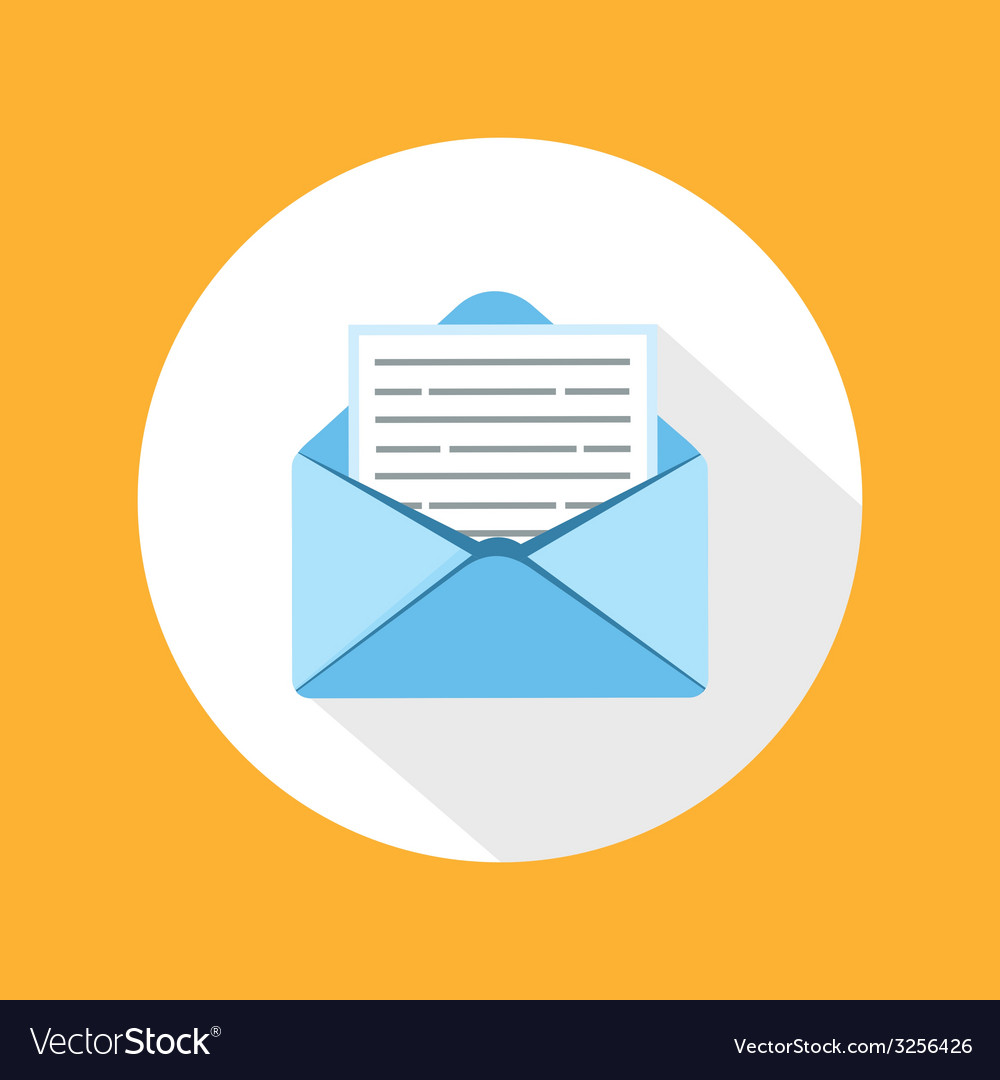 Envelope message vector | Price: 1 Credit (USD $1)