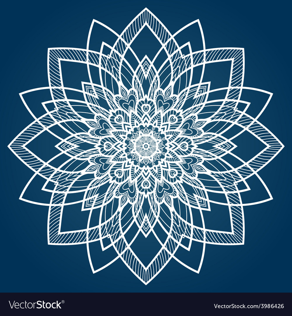 Hand drawn ornamental background vector | Price: 1 Credit (USD $1)