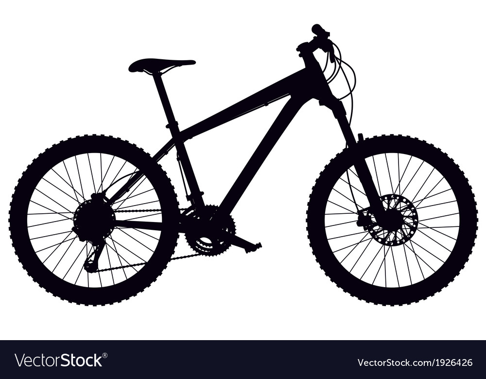 Mountain bike hardtail vector | Price: 1 Credit (USD $1)
