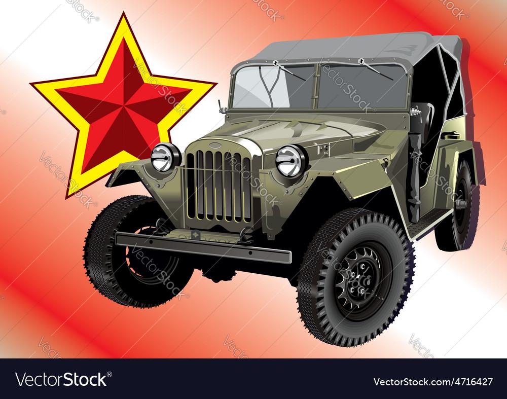 Old car vector   Price: 1 Credit (USD $1)