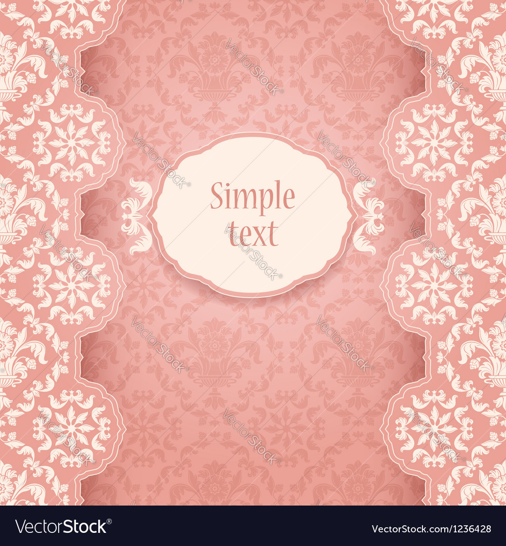 Frame ornate vintage square vector | Price: 1 Credit (USD $1)