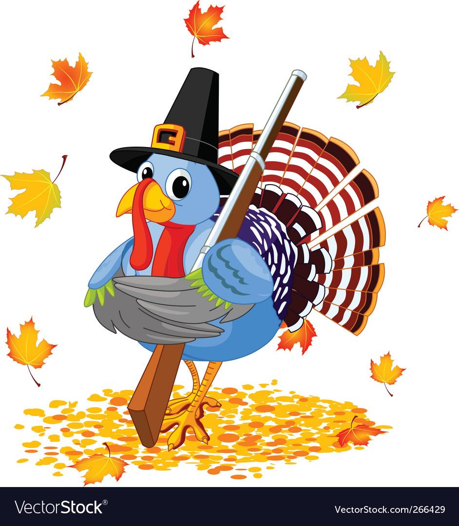 Cartoon turkey vector | Price: 3 Credit (USD $3)