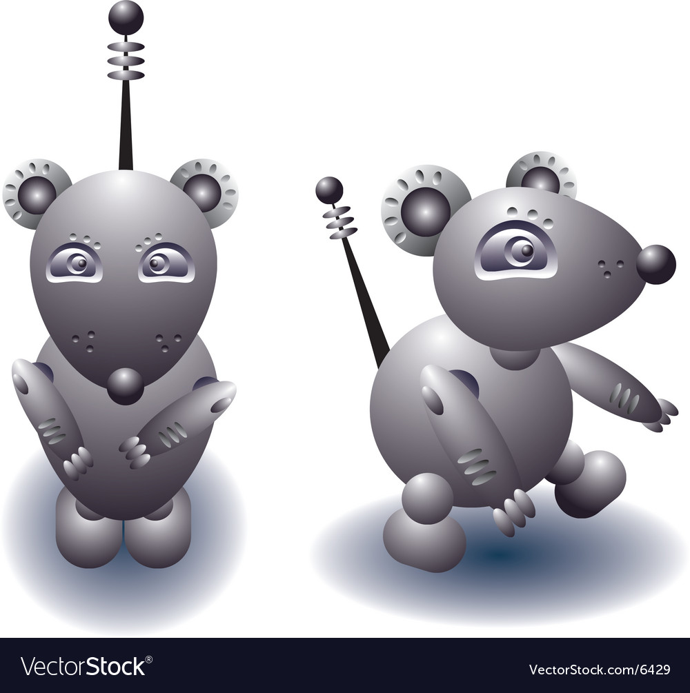 Robot rat vector | Price: 3 Credit (USD $3)