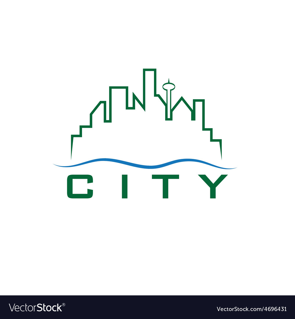 City skyline design template vector | Price: 1 Credit (USD $1)