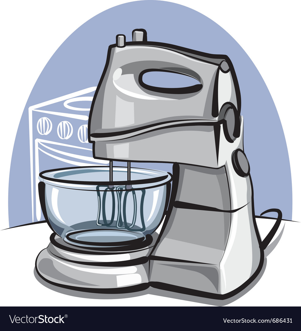 Kitchen mixer vector | Price: 3 Credit (USD $3)