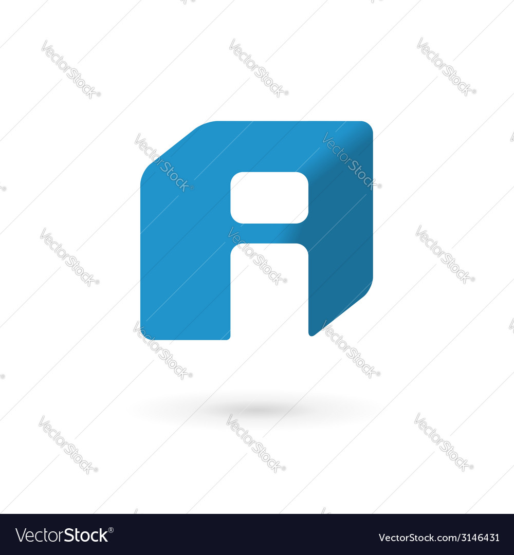 Letter i cube logo icon design template elements vector | Price: 1 Credit (USD $1)