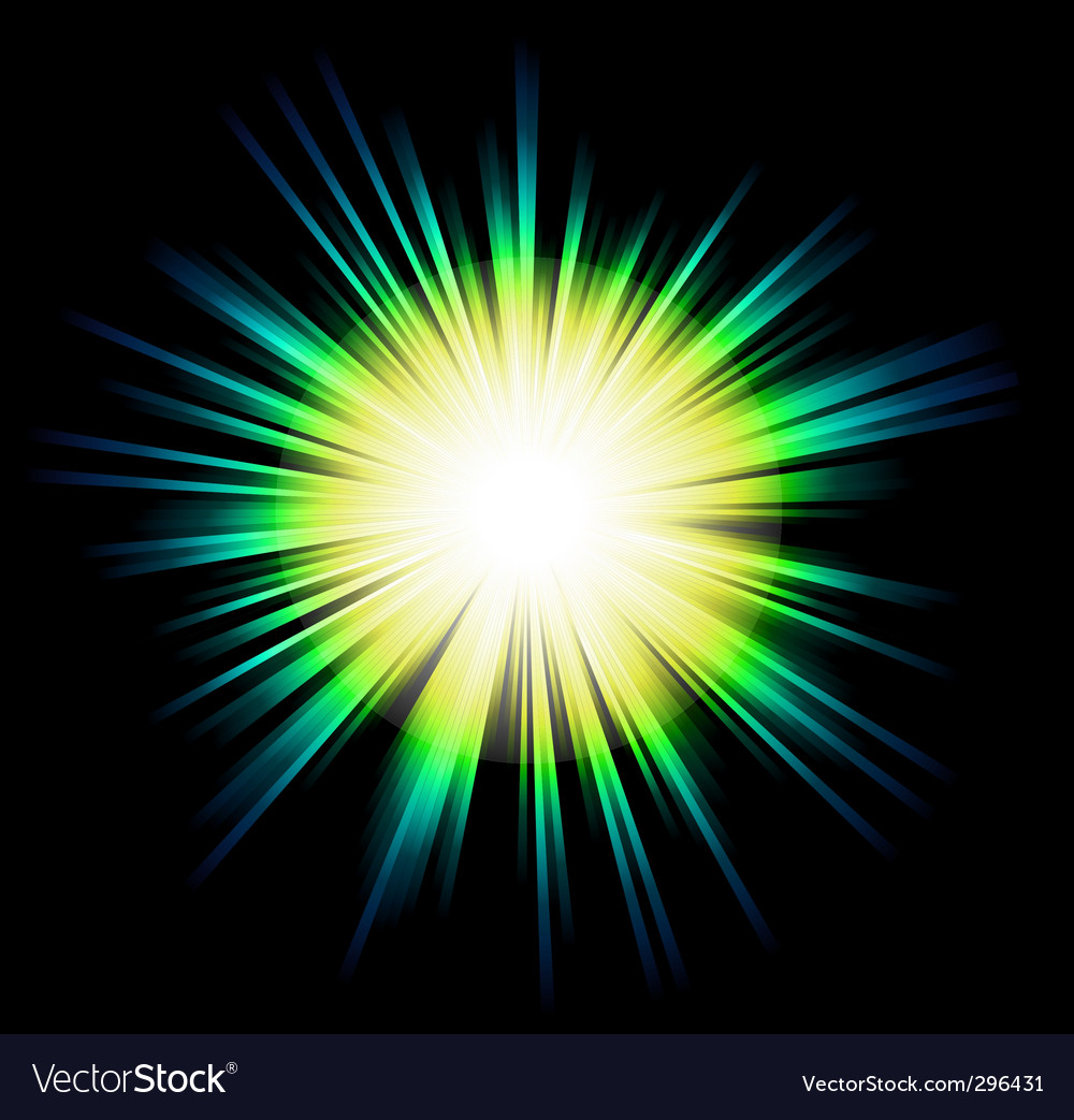 Light sparkle with rainbow colours vector | Price: 1 Credit (USD $1)