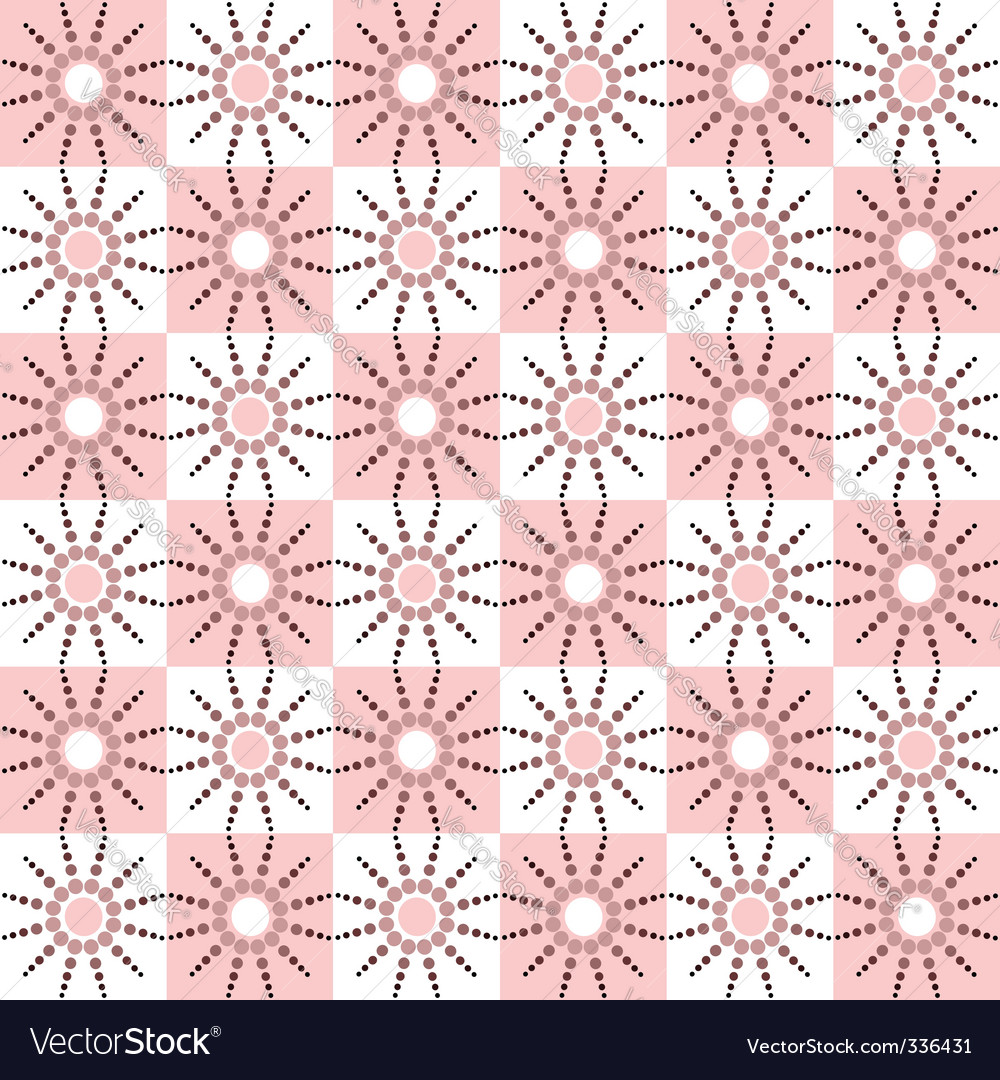 Seamless pattern with dots design vector | Price: 1 Credit (USD $1)
