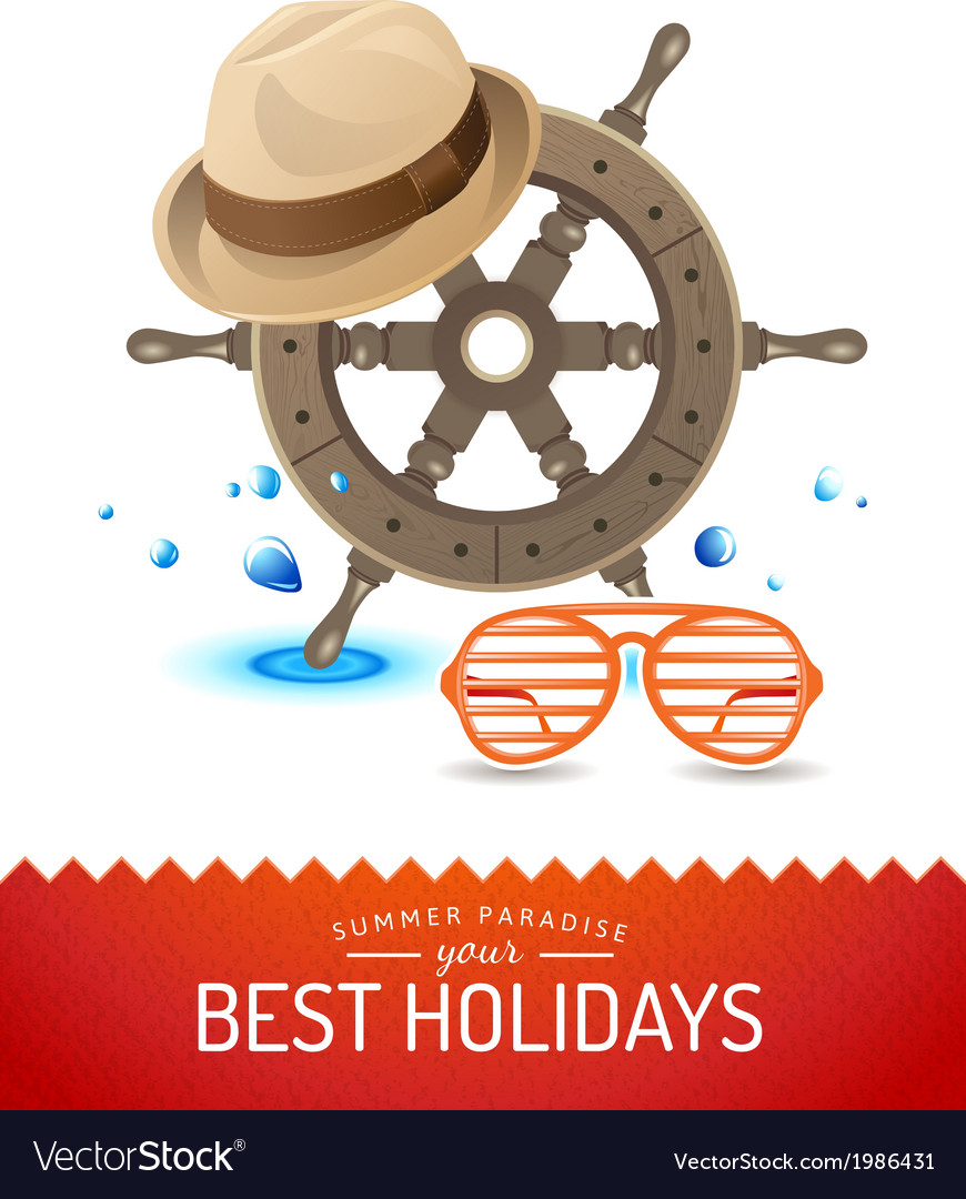 Summer time background vector | Price: 1 Credit (USD $1)