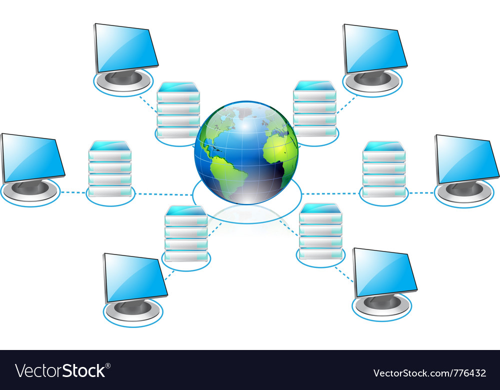Networking vector | Price: 3 Credit (USD $3)