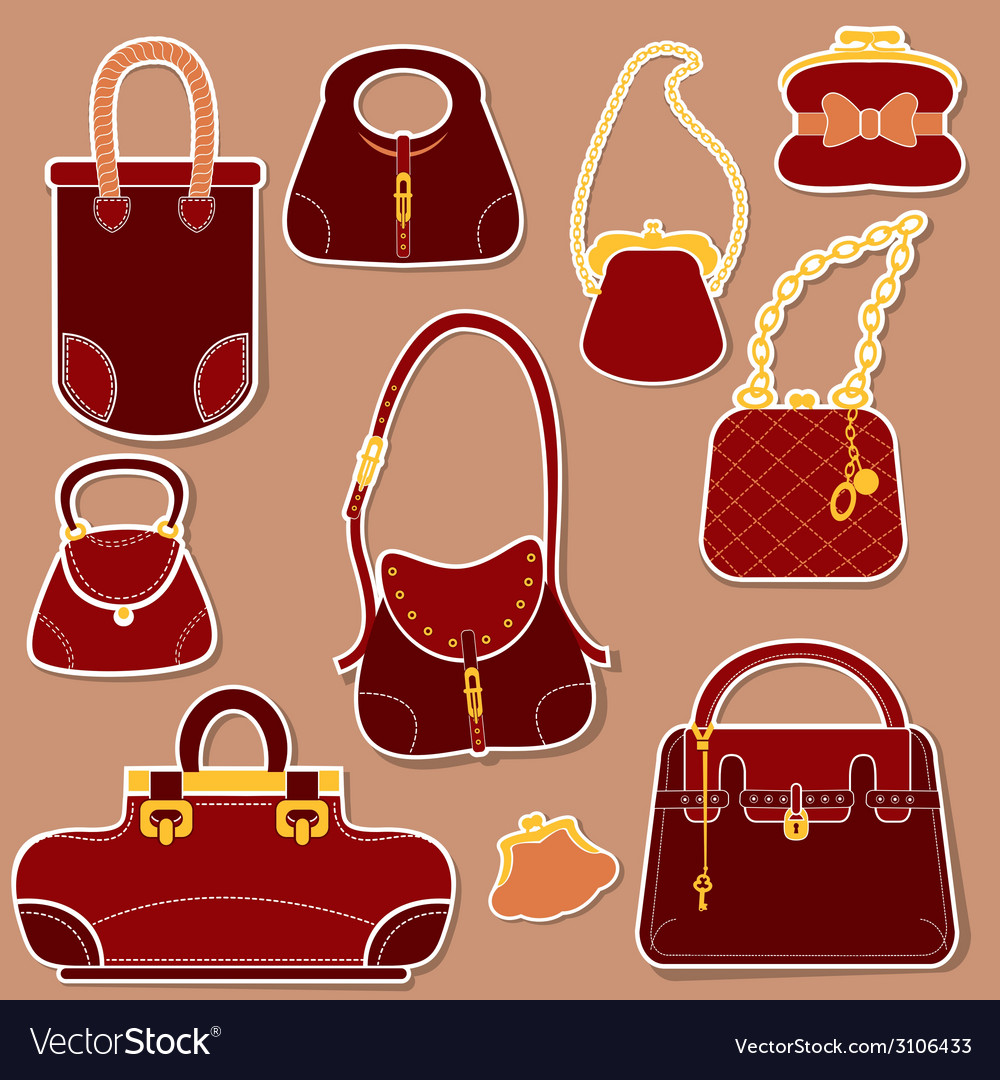 Bag set 1 380 vector | Price: 1 Credit (USD $1)