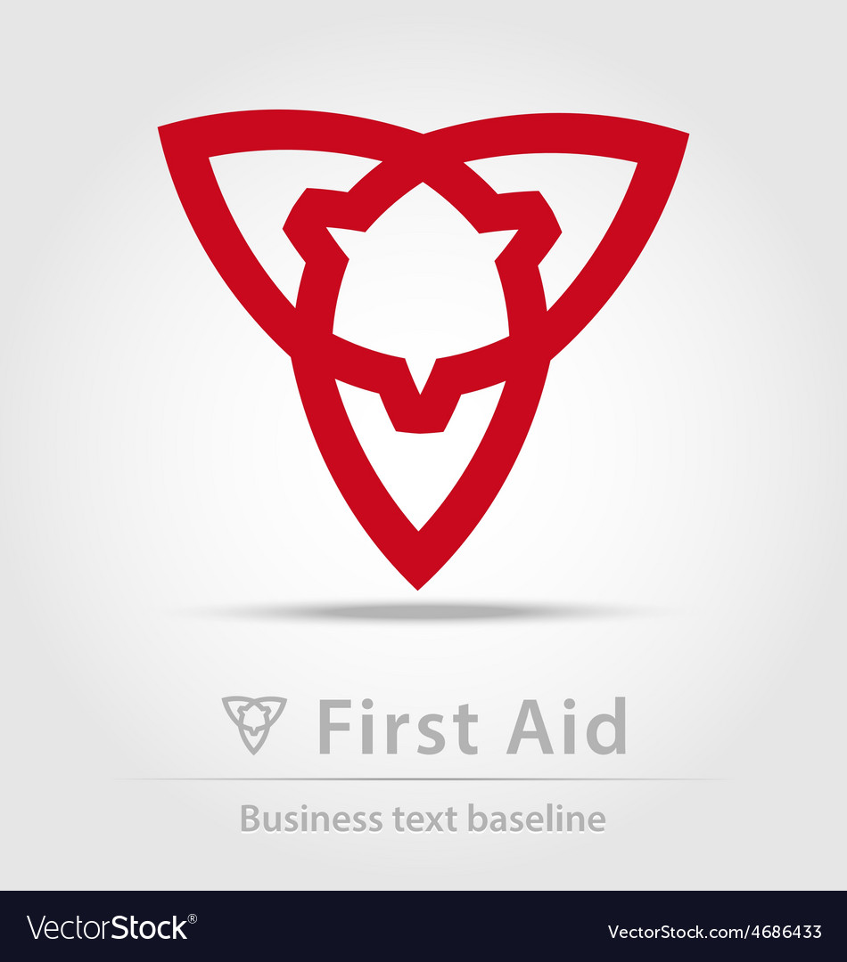 First aid business icon vector   Price: 1 Credit (USD $1)