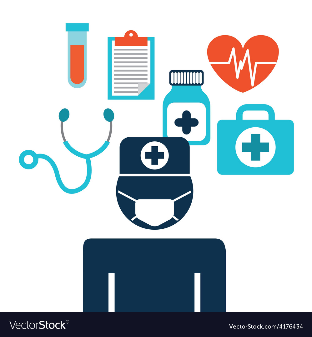 Medical care vector | Price: 1 Credit (USD $1)