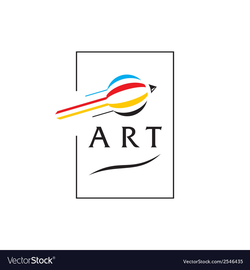 Arts sign vector | Price: 1 Credit (USD $1)