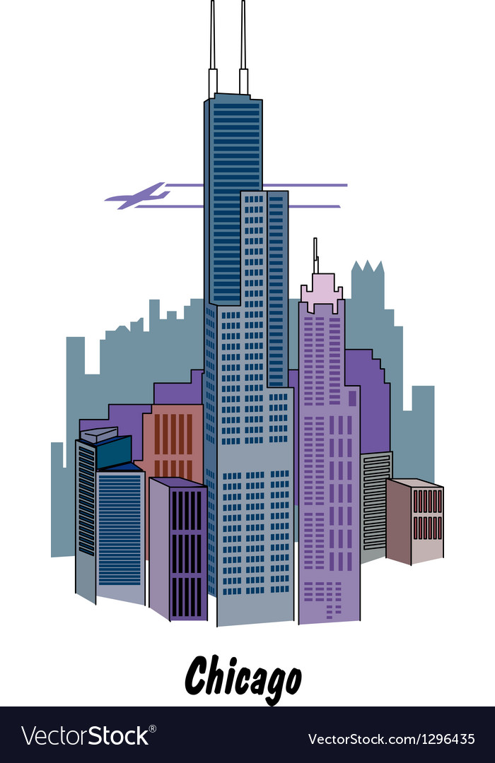Chicago vector | Price: 1 Credit (USD $1)