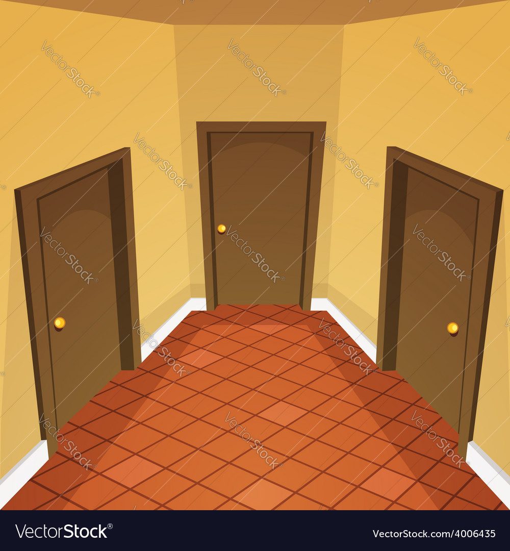 House hallway vector | Price: 5 Credit (USD $5)