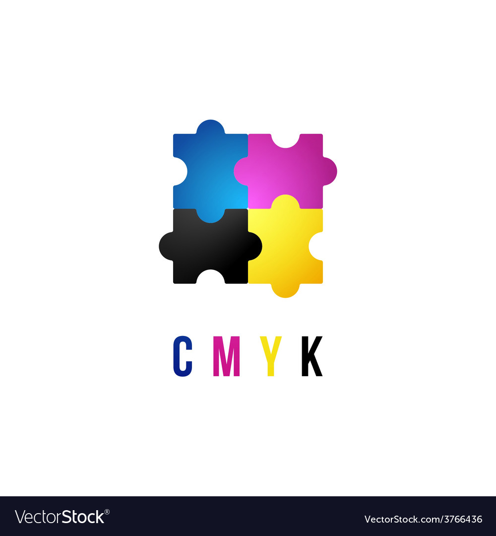 Cmyk logo template vector | Price: 1 Credit (USD $1)