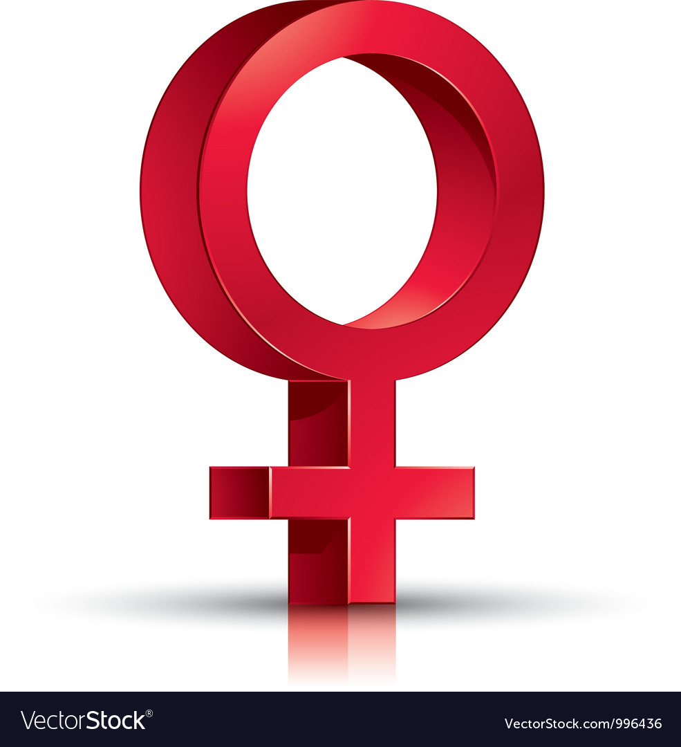 Female symbol vector | Price: 1 Credit (USD $1)