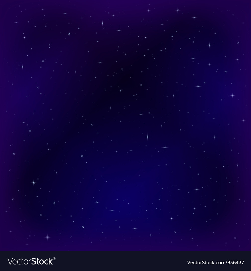 Empty space with stars vector   Price: 1 Credit (USD $1)
