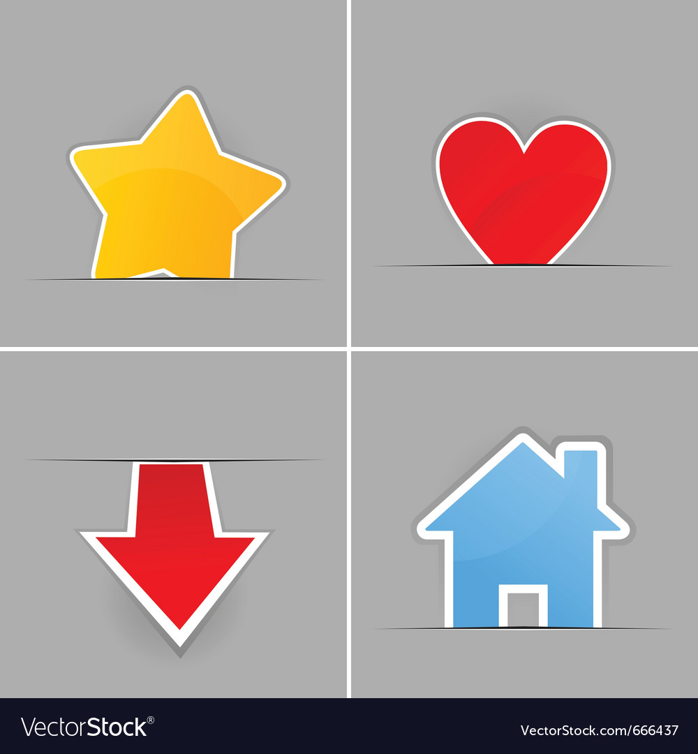 Internet buttons vector | Price: 1 Credit (USD $1)