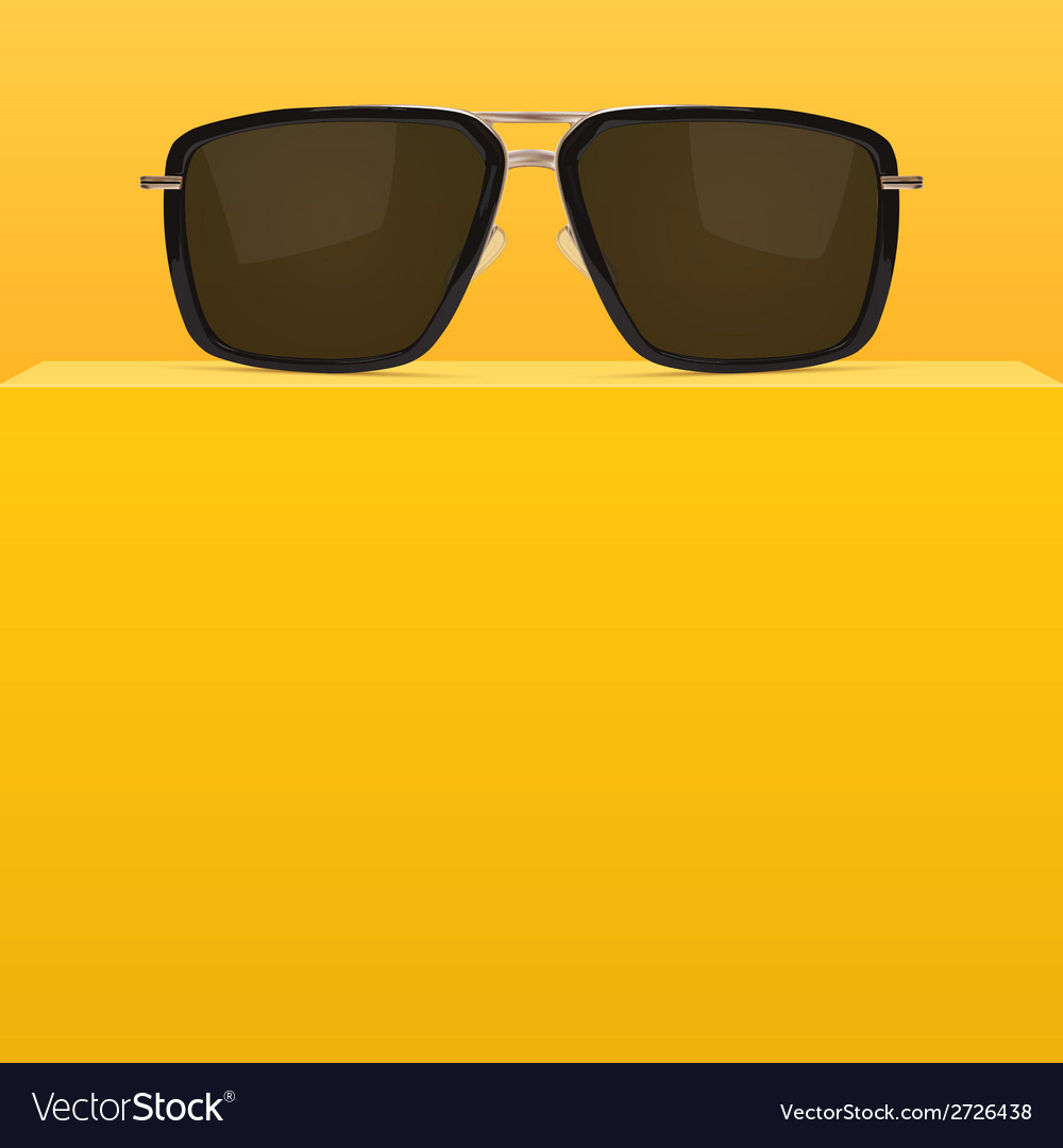 Abstract yellow background with realistic vector | Price: 1 Credit (USD $1)
