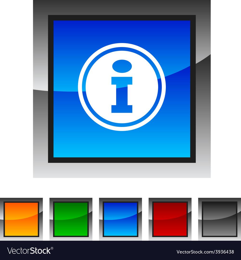 Info icons vector   Price: 1 Credit (USD $1)