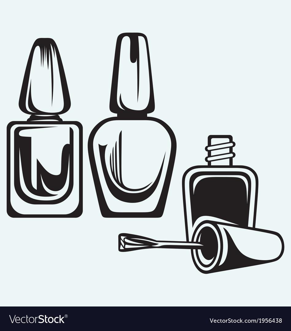 Set of nail polish vector | Price: 1 Credit (USD $1)