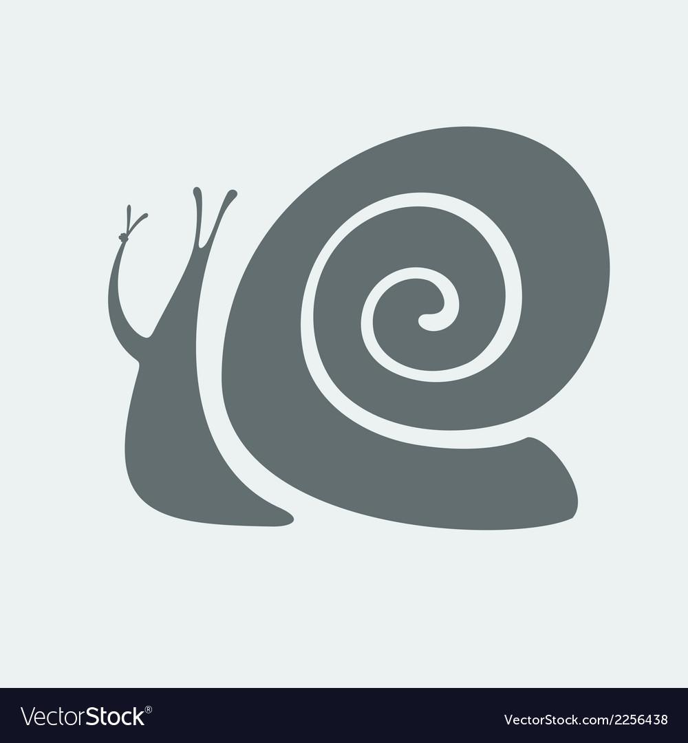 Snail symbol vector   Price: 1 Credit (USD $1)