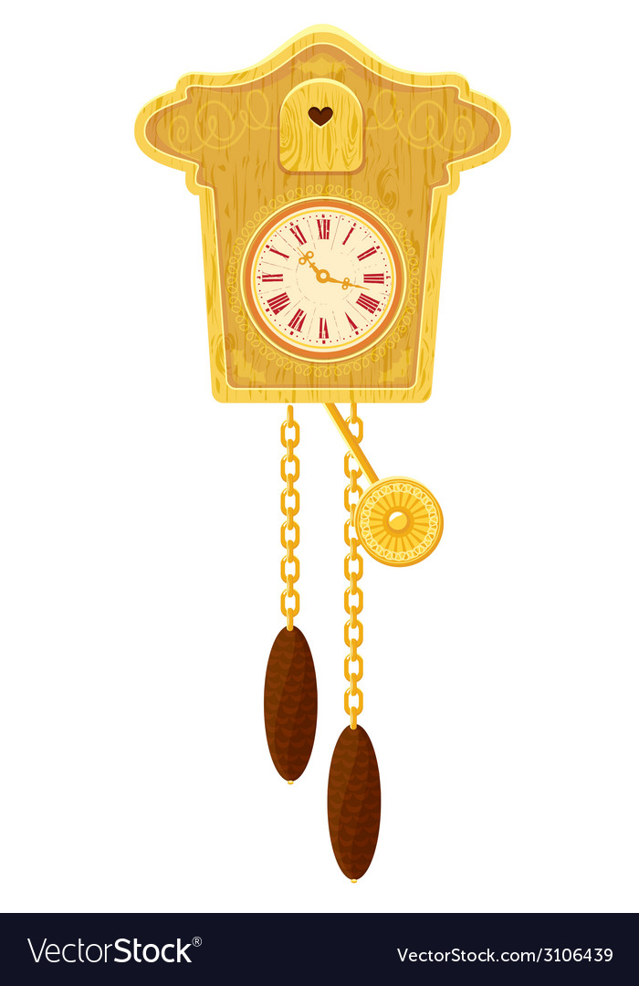 Clock gold 380 vector | Price: 1 Credit (USD $1)
