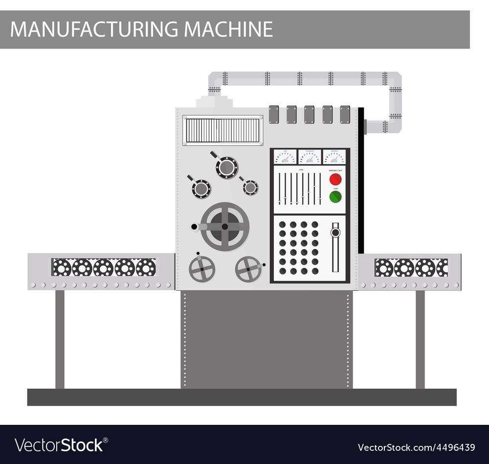 Machine factory vector | Price: 1 Credit (USD $1)