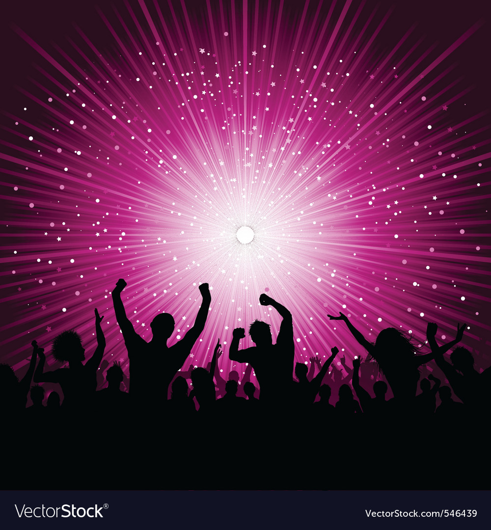 Party poster vector | Price: 1 Credit (USD $1)