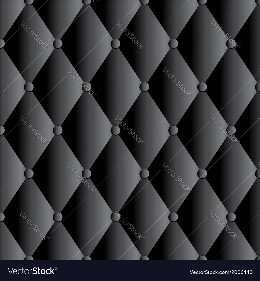 Abstract black upholstery background vector | Price: 1 Credit (USD $1)