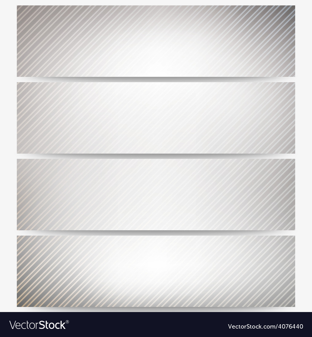 Abstract headers set diagonal repeat straight vector | Price: 1 Credit (USD $1)