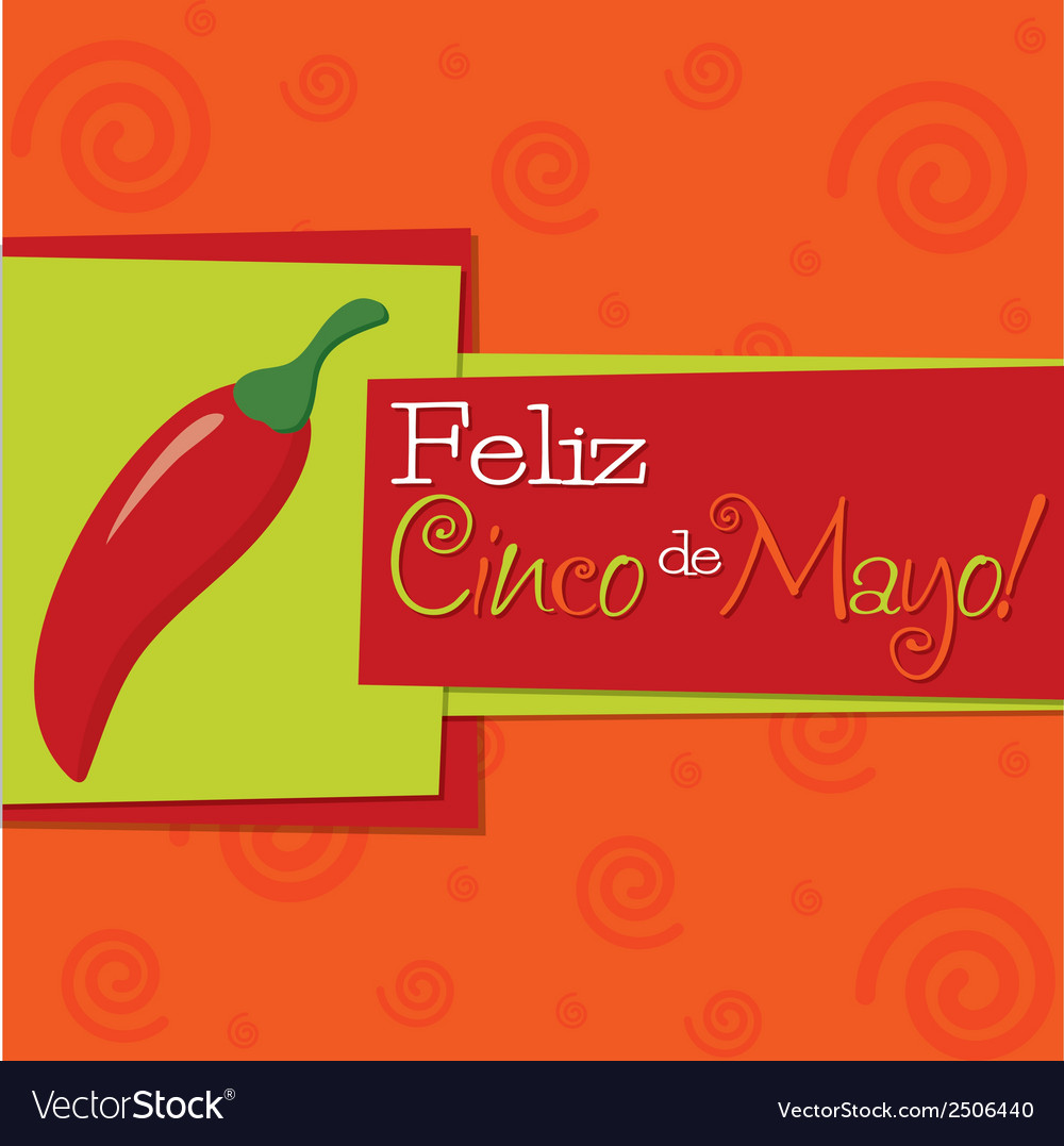 Cinco de mayo background vector | Price: 1 Credit (USD $1)