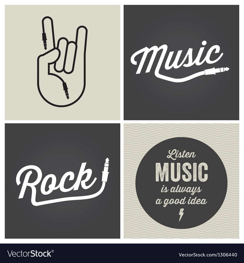 Music type font music type font vector | Price: 1 Credit (USD $1)