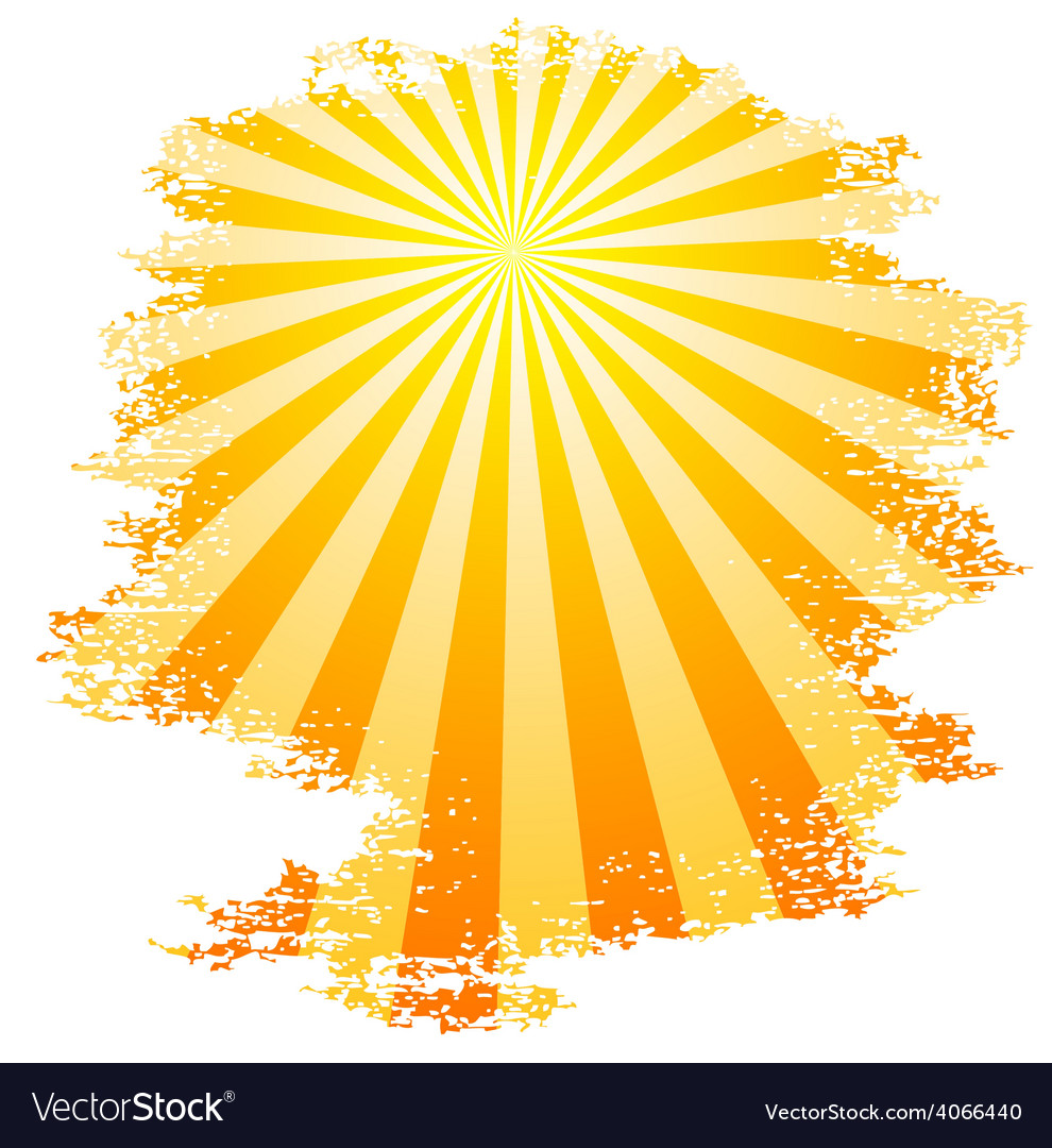 Sunbeams vector | Price: 1 Credit (USD $1)